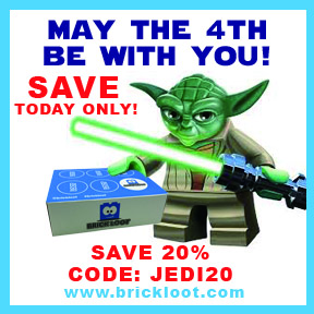 May the 4th be with you Brick Loot Sale